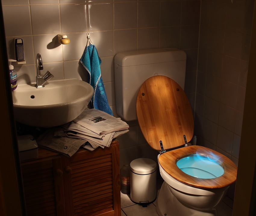 What to do when toilet overflows